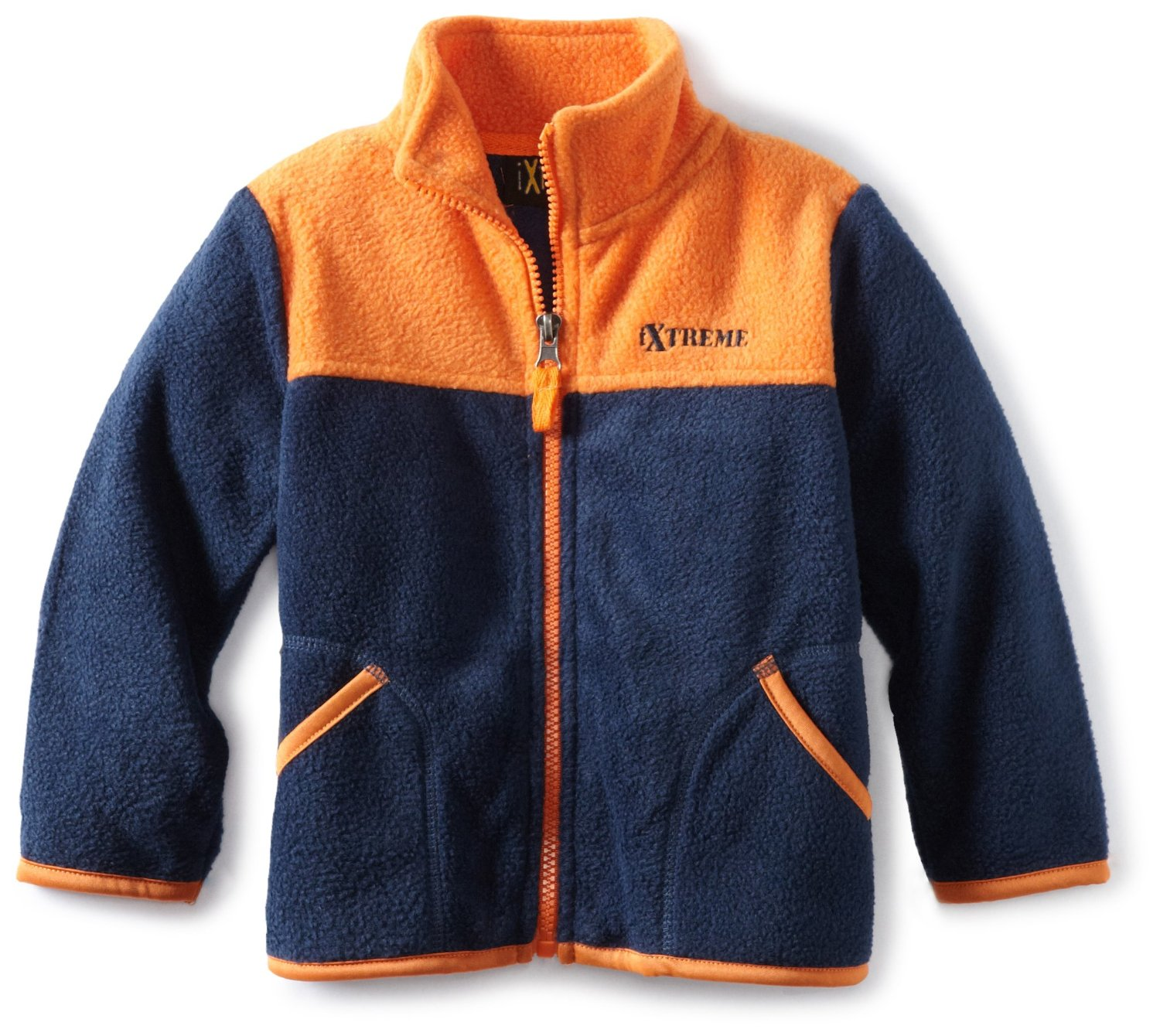 Ixtreme Baby-Boys 12-24M Navy Blue Polar Fleece Color Block Jacket at Sears.com