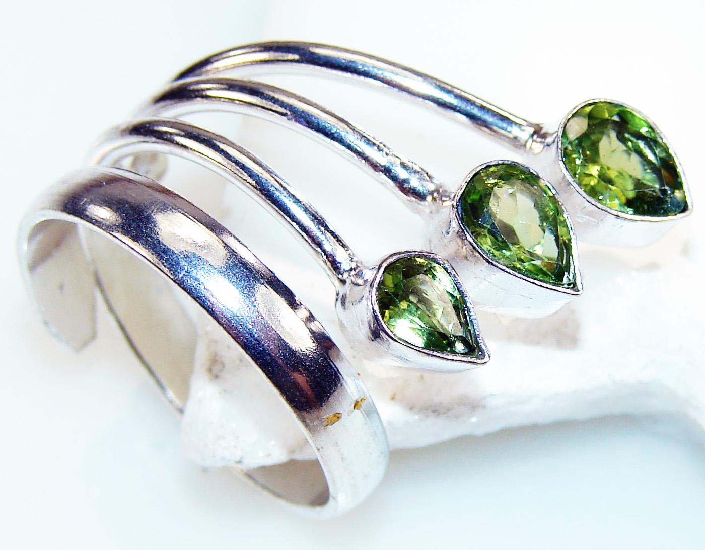 Silver Jewelry Gemstone Peridot Ring Size 9.5 Handmade Sterling Silver Peridot Ring at Sears.com