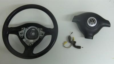 3 Spoke Steering Wheel Package VW Golf Jetta Passat 98 05 B5 MK4