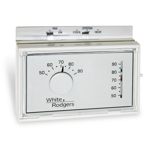 Wire A White Rodgers Thermostat : White rodgers f n series non programmable thermostat