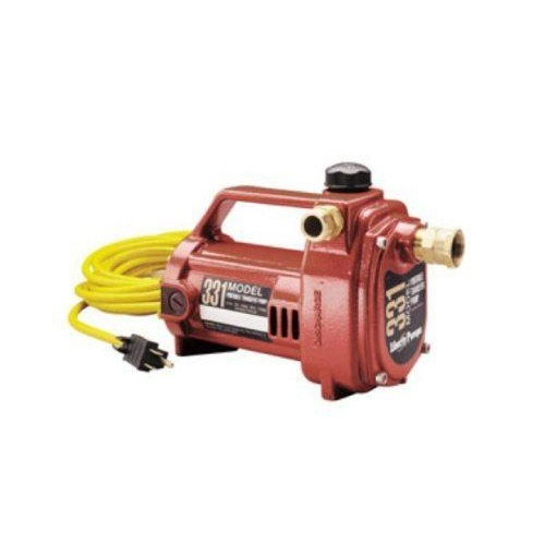 Liberty Pumps Model 331 Heavy-Duty Portable Transfer Pump with 3/4