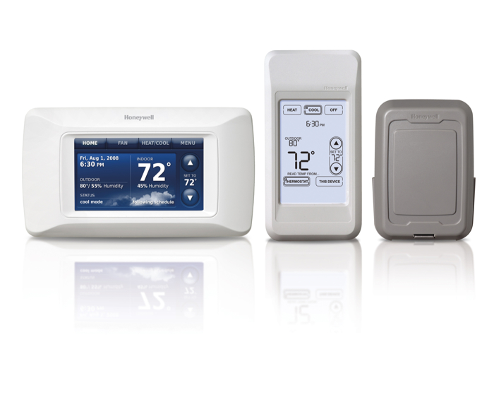 Honeywell YTHX9321R5061 Prestige 2.0 Touchscreen Programmable Thermostat Kit with Personal Comfort Control & Wireless Outdoor Air Sensor at Sears.com