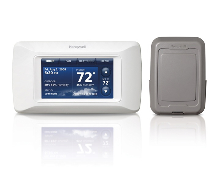 Honeywell YTHX9321R5079 Prestige 2.0 HD Touchscreen Multi-Stage Programmable Thermostat Kit Wireless Outdoor Air Sensor at Sears.com