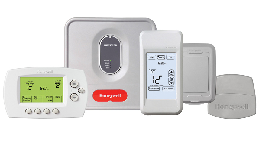 Honeywell YTH6320R1015 FocusPRO 6000 Wireless Programmable Thermostat Kit at Sears.com