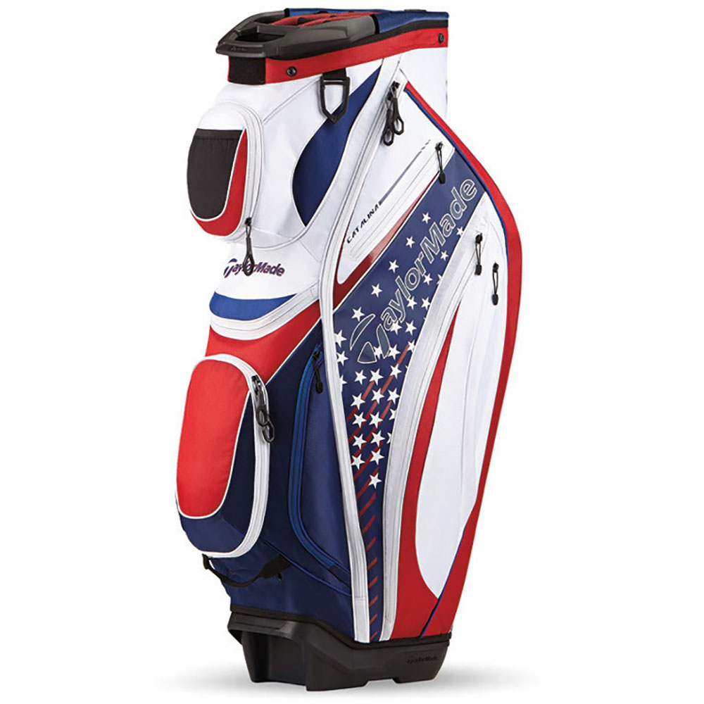 New Taylormade Golf Catalina Cart Bag 15 Way Top 2016 Ebay