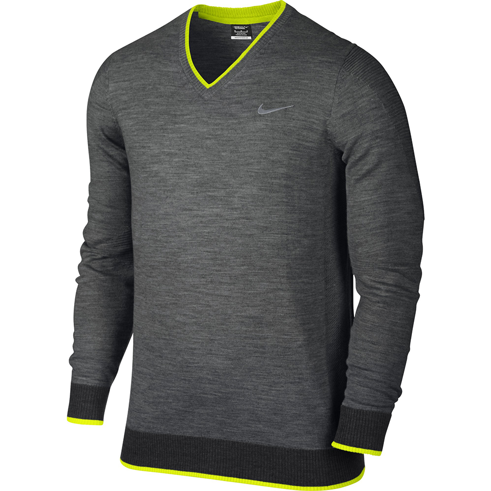 new mens nike engineered knit 3d golf weather sweater