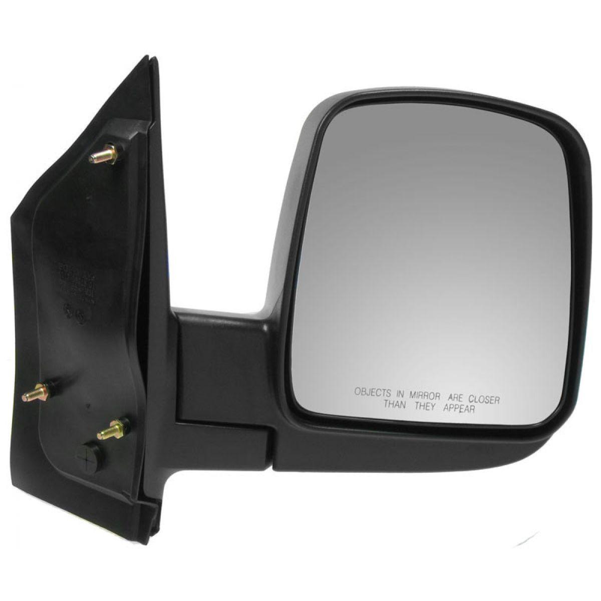 2003 2010 chevy express van gmc savana manual mirror rh passenger item photo