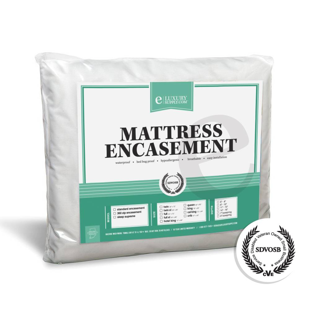 Mattress Encasement Waterproof Bed Bug Protector by
