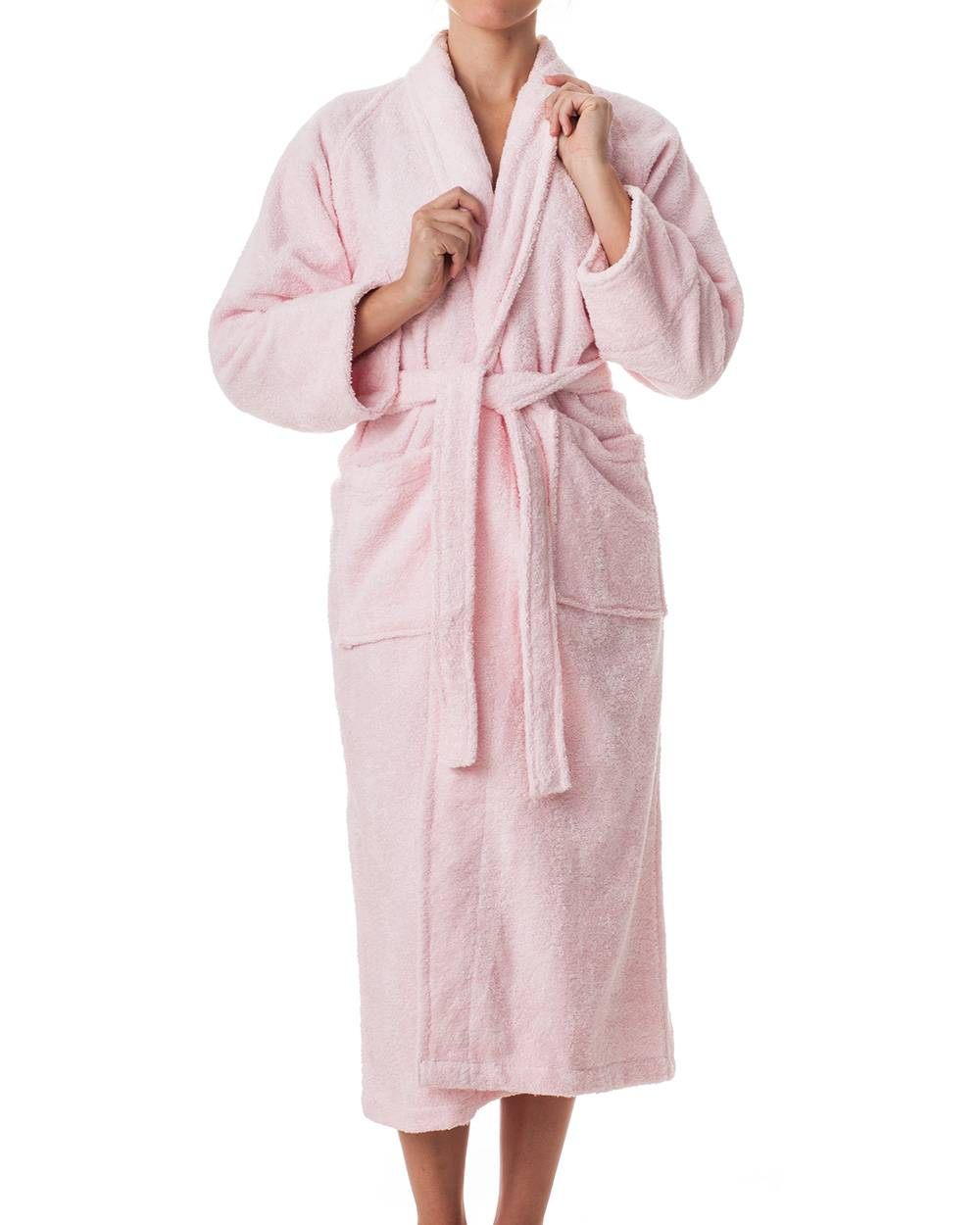 unisex terry cloth robe 100 egyptian cotton hotel spa robe by regency ebay. Black Bedroom Furniture Sets. Home Design Ideas