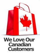 We Love Our Canadian Customers