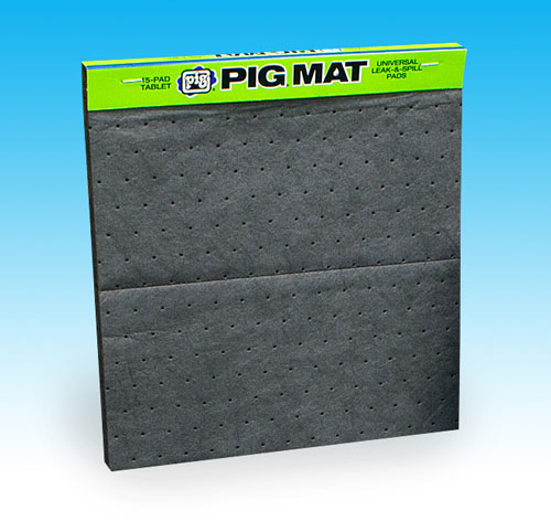 "New Pig Oil Absorbent Mat Tablet 14""X14.25"" 15 Pack at Sears.com"
