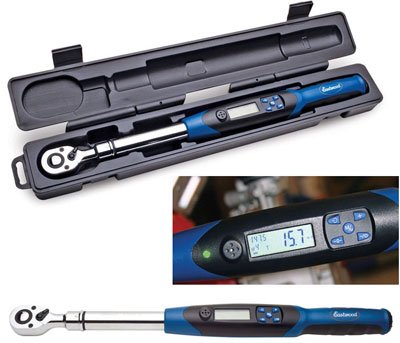 "Digital Electronic Torque-Angle Wrench 3/8"" Drive Torque Wrench 