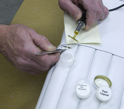 Eastwood Vinyl Leather Plastic Seat Amp Dash Repair Kit Ebay