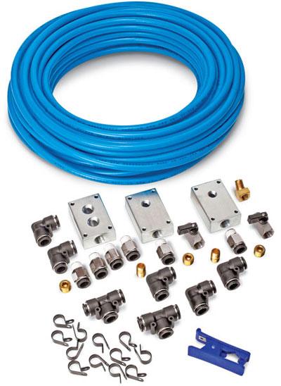 Garage Amp Shop Compressor Compressed Air Line Kit Ebay