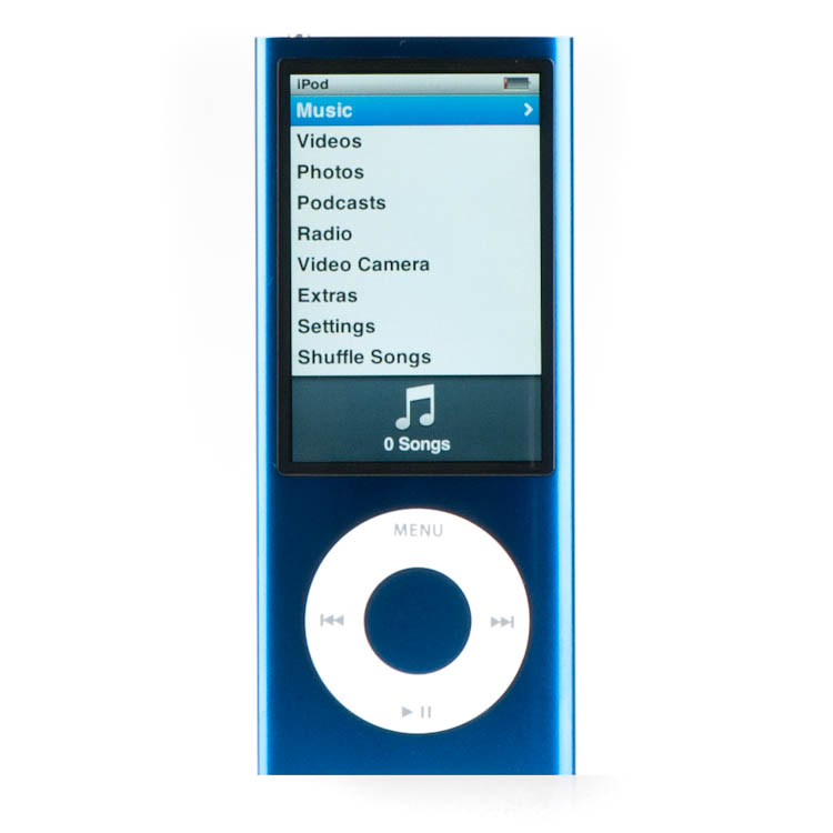 apple ipod nano 5th generation 16gb good condition blue. Black Bedroom Furniture Sets. Home Design Ideas