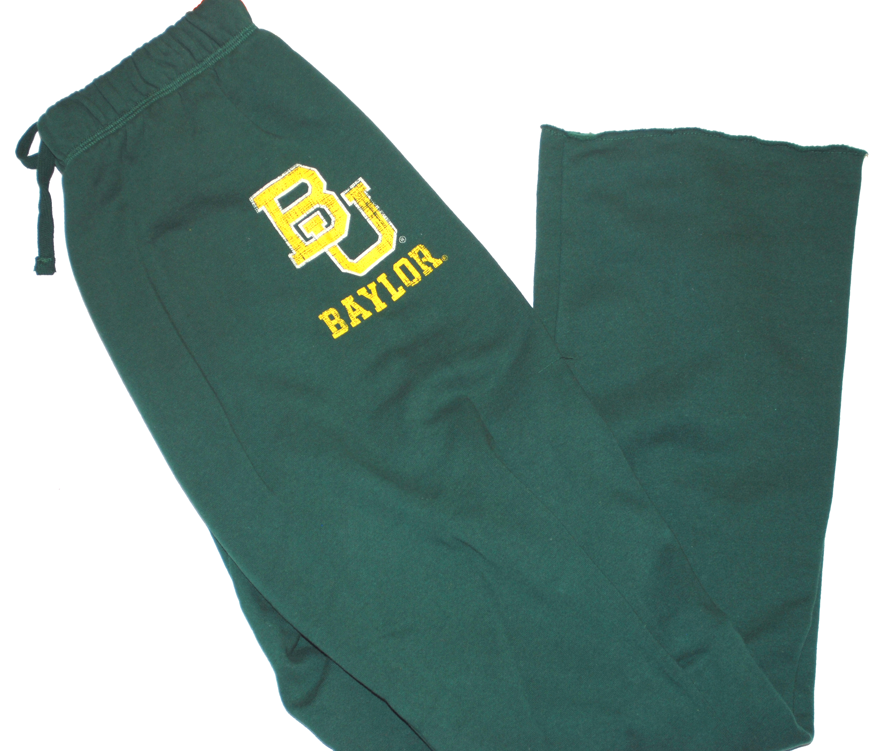 Colosseum Baylor Bears Colosseum Athletics Dark Green Womens Drawstring Sweatpants (M) at Sears.com