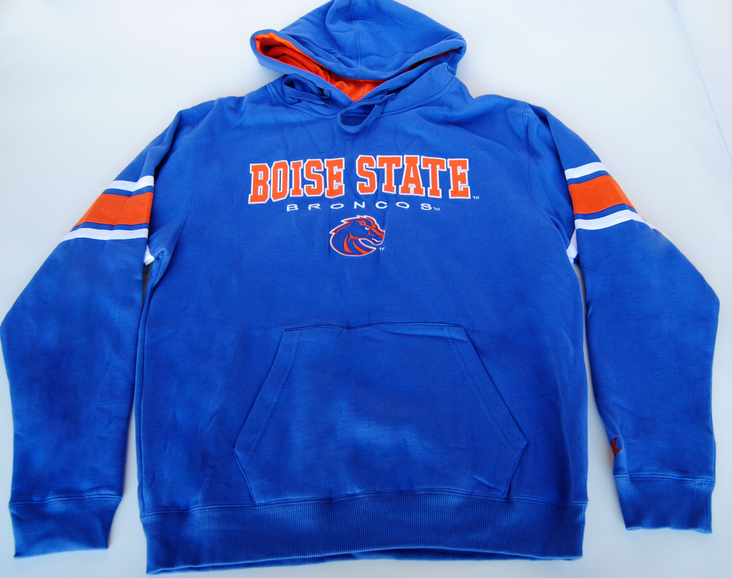 Colosseum Athletics Boise State Broncos Colosseum Athletics Blue Hooded Sweatshirt (L) at Sears.com