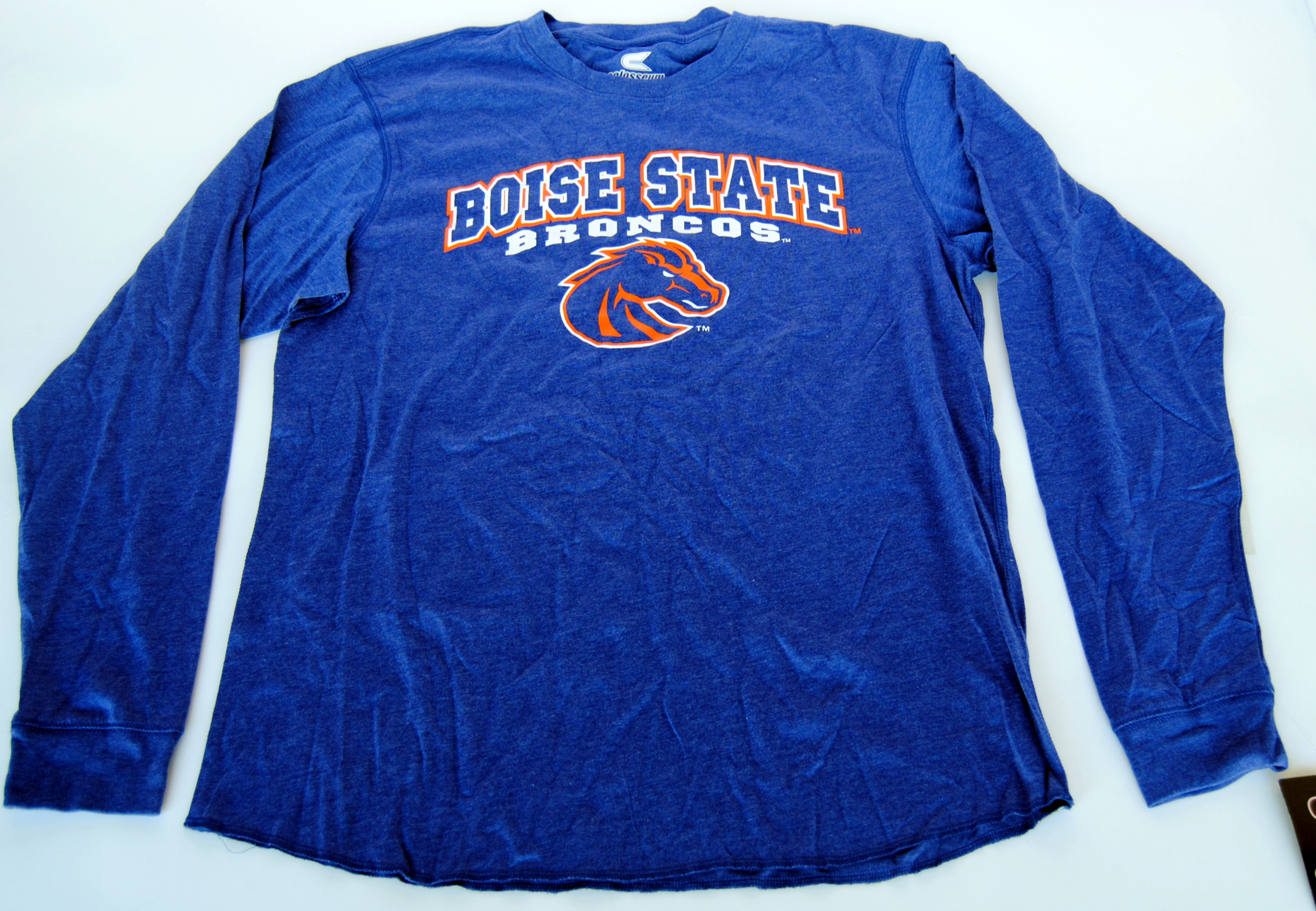 Colosseum Athletics Boise State Broncos Colosseum Athletics Blue Long Sleeve T-Shirt (L) at Sears.com