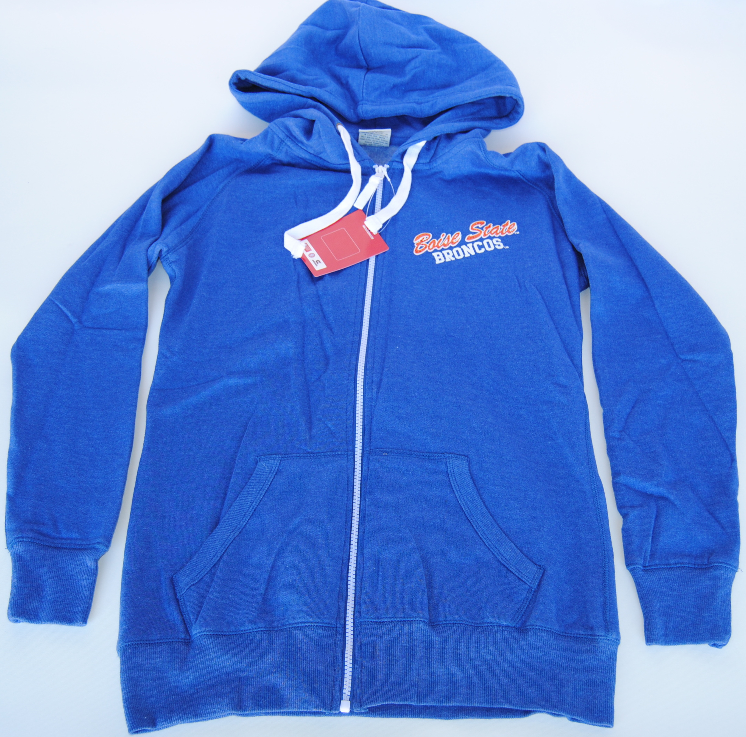 Colosseum Athletics Boise State Broncos Colosseum Blue Womens Rhinestone Zip Front Jacket (M) at Sears.com