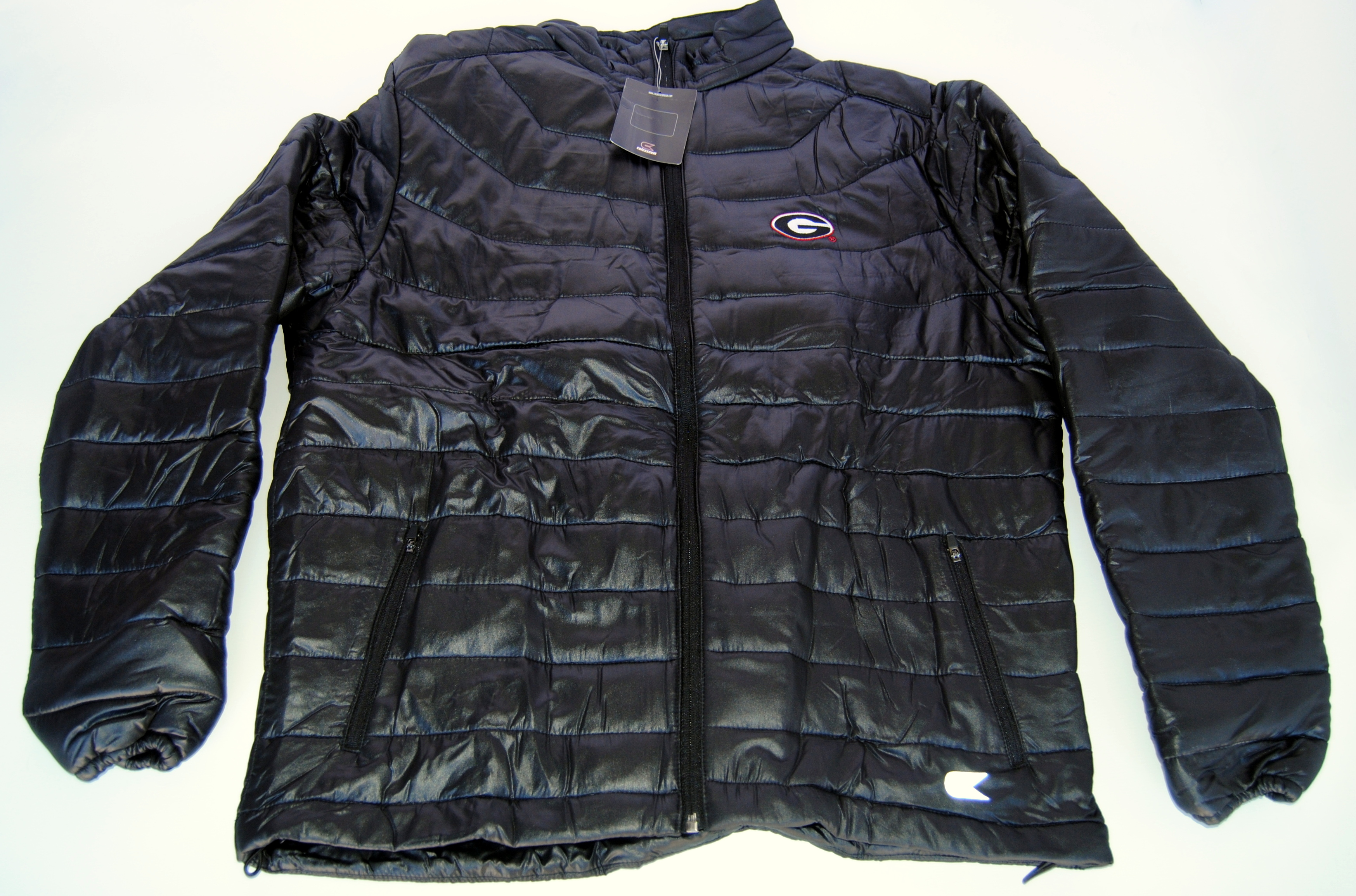 Colosseum Athletics Georgia Bulldogs Colosseum Athletics Black Women's Zip Front Heavy Jacket (L) at Sears.com