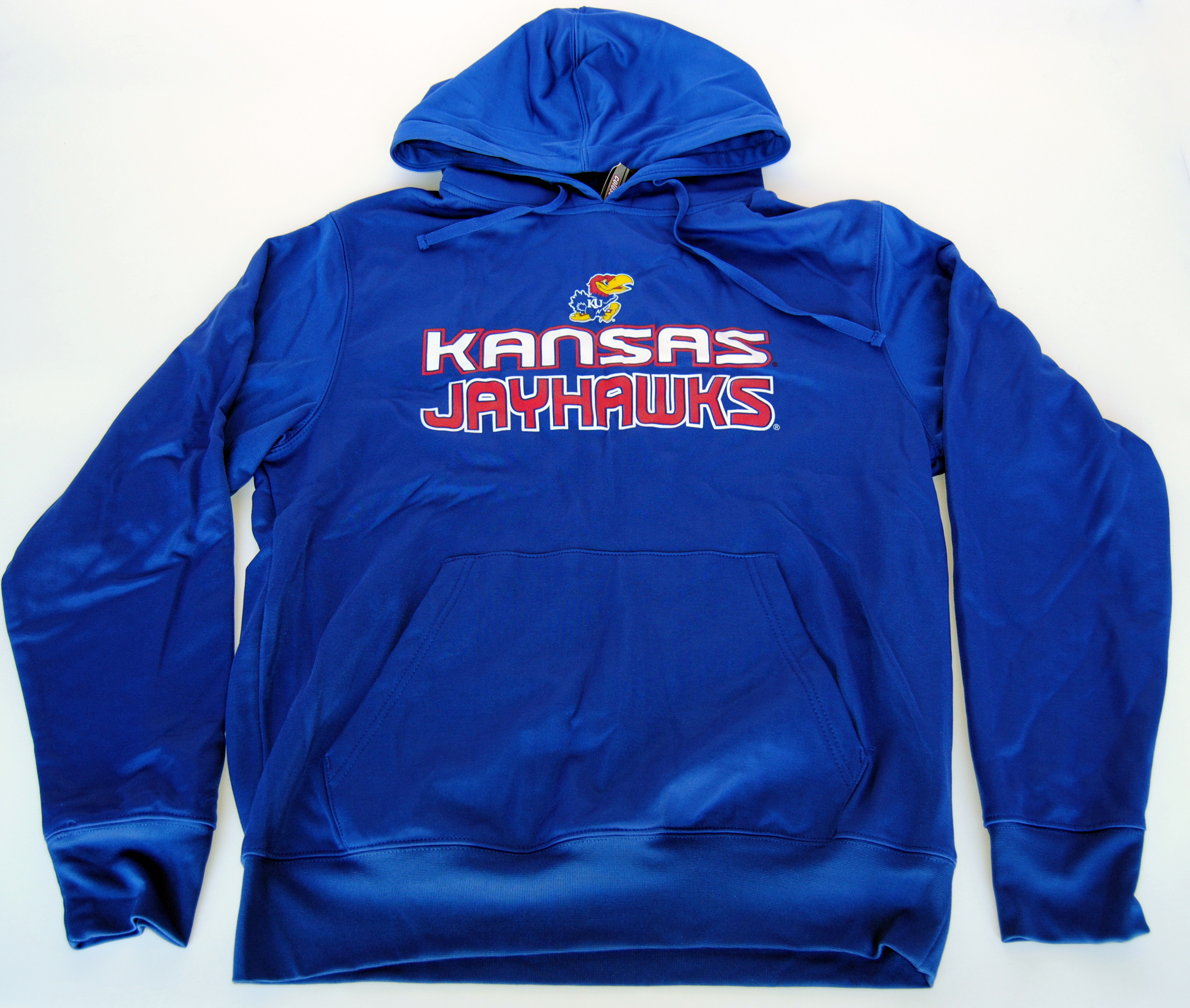 Colosseum Athletics Kansas Jayhawks Colosseum Athletics Blue Hooded Sweatshirt (L) at Sears.com