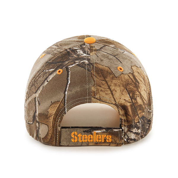 67b2181c19d2a1 ... new zealand 47 brand pittsburgh steelers realtree camo frost mvp adjustable  hat cap 6f104 a7415