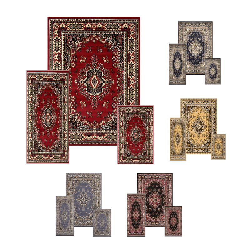 Area rug and runner sets