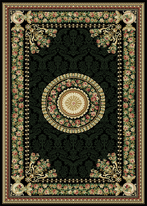 TRANSITIONAL-PERSIAN-BORDER-AREA-RUG-5X8-ORIENTAL-CARPET-ACTUAL-5-2-x-7-2