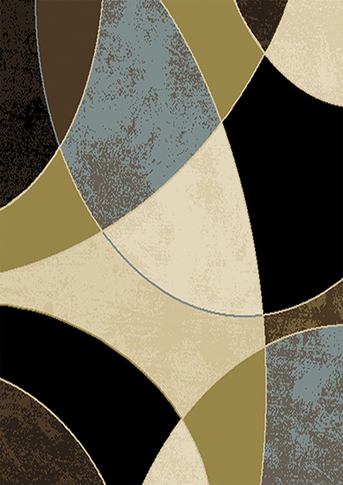 Transitional Floral Area Rug 5x8 Modern Geometric Carpet Actual