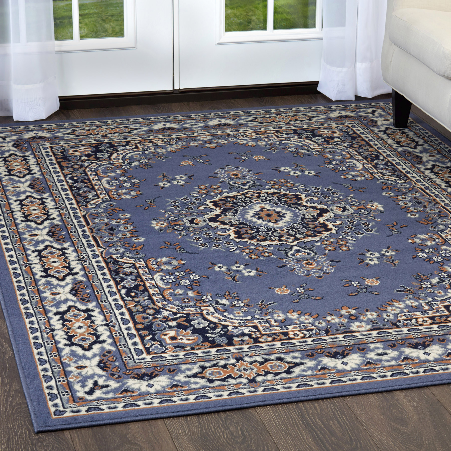Large-Traditional-8x11-Oriental-Area-Rug-Persian-Style-Carpet-Approx-7-039-8-034-x10-039-8-034