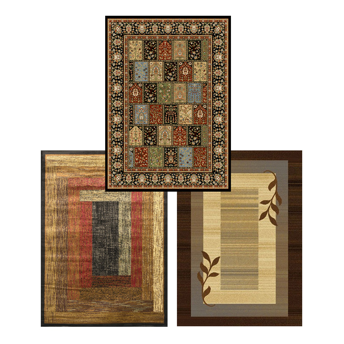 Rustic Lodge 5x8 Traditional Area Rug Actual 5 39 2 X 7