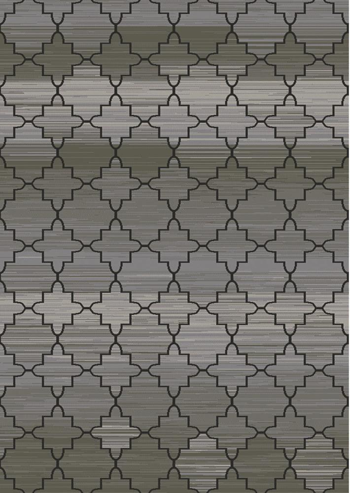 "Transitional Geometric Floral Area Rug 8x11 Oriental Carpet  -Actual  7'8""x10'4"""
