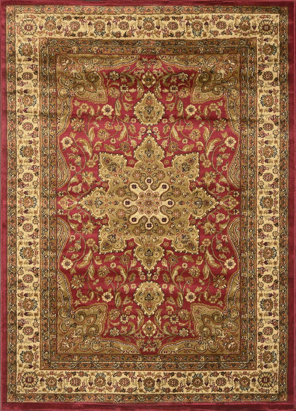 Large medallion 8 x 11 persian area rug border carpet for Carpets and area rugs