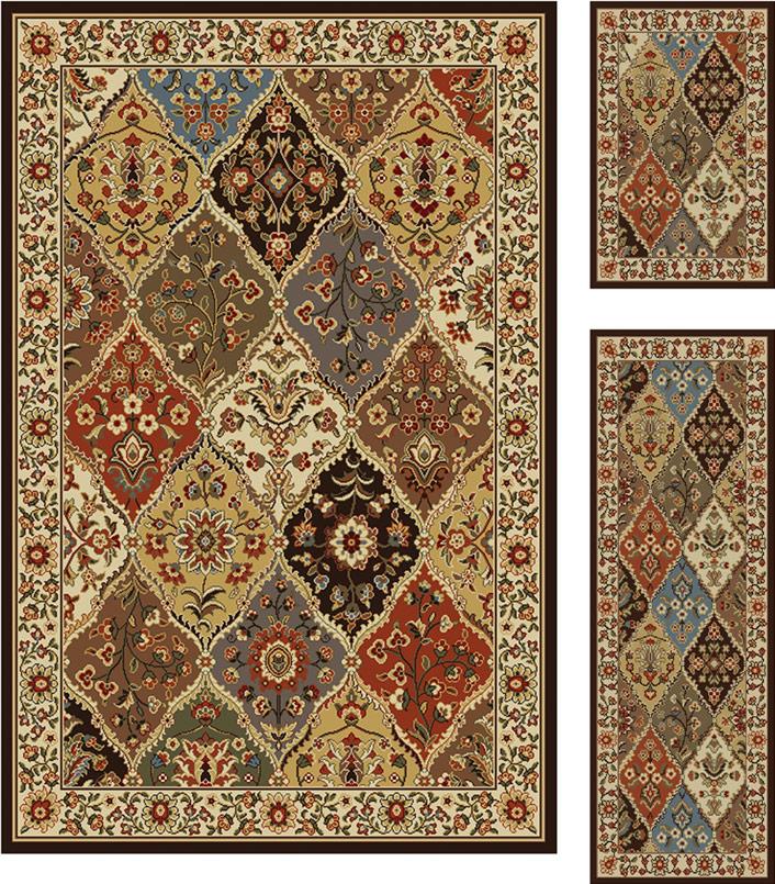 Top 28 area rug sets threadbind harlan burgundy 3 for Area rug sets