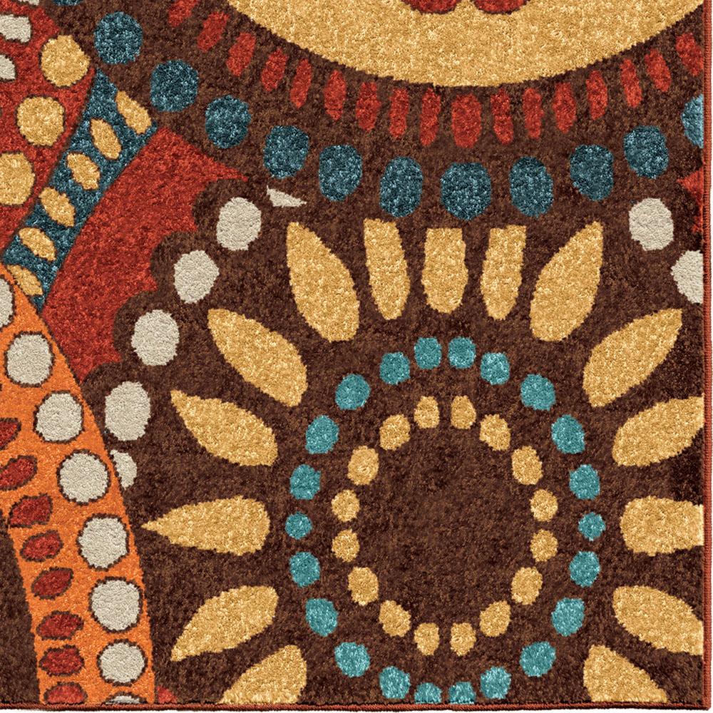 ^ Multi-olor Geometric Layered ings Petals ontemporary rea ug ...
