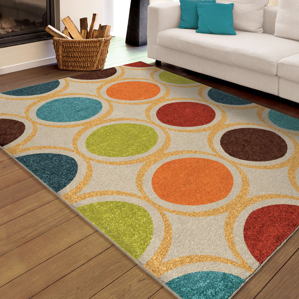 ^ Multi-olor ings onnected Bubbles Loops ontemporary rea ug ...