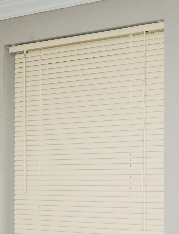 window blinds mini blinds 1 cream alabaster beige vinyl. Black Bedroom Furniture Sets. Home Design Ideas