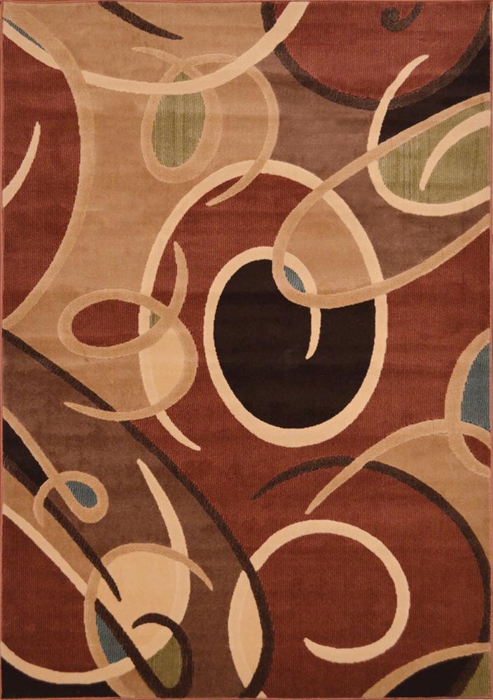 Contemporary Geometric Area Rug Modern Stripes Squares Carpet