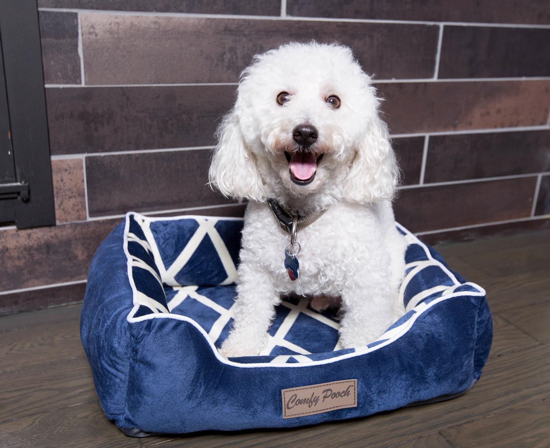dog cat pet beds soft microfiber fleece orthopedic bolster nest sleeping bed. Black Bedroom Furniture Sets. Home Design Ideas