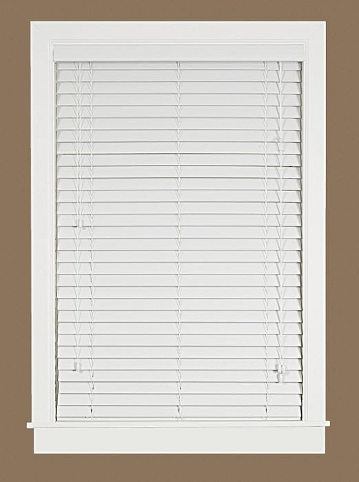 how to clean 2 inch faux wood blinds