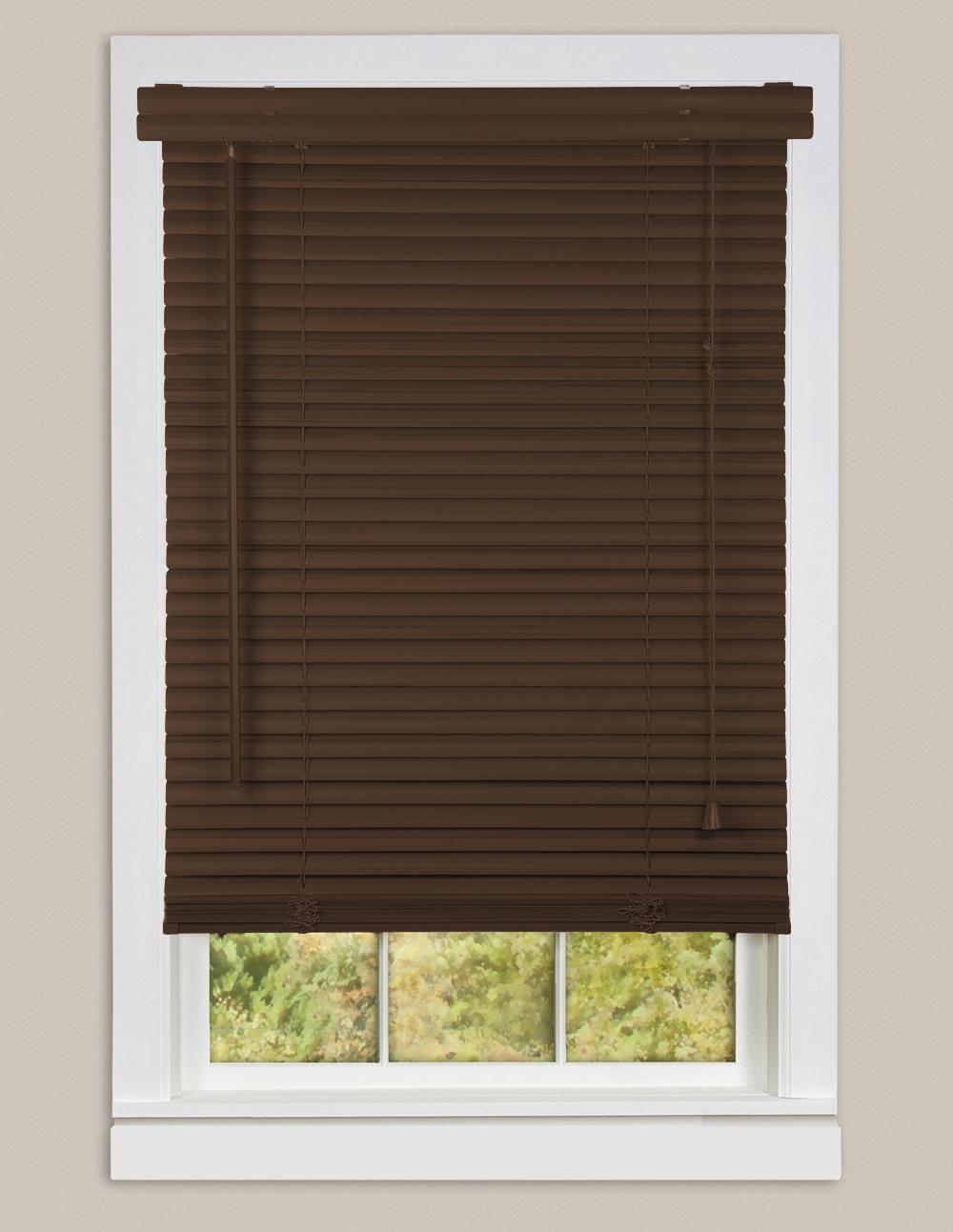 Window Blinds Mini Blind 1 Slat Vinyl Venetian Blinds