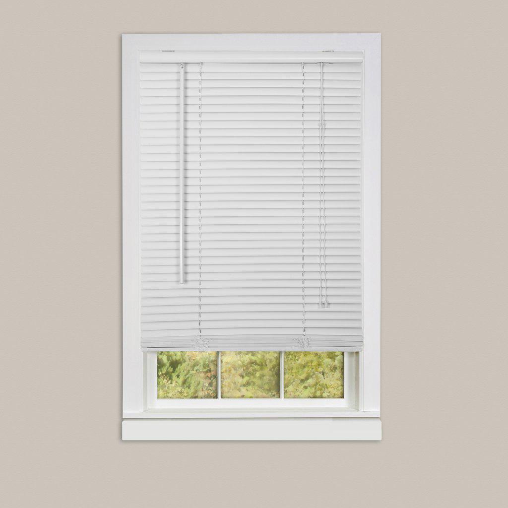 window blinds mini blinds 1 slats room darkening vinyl. Black Bedroom Furniture Sets. Home Design Ideas