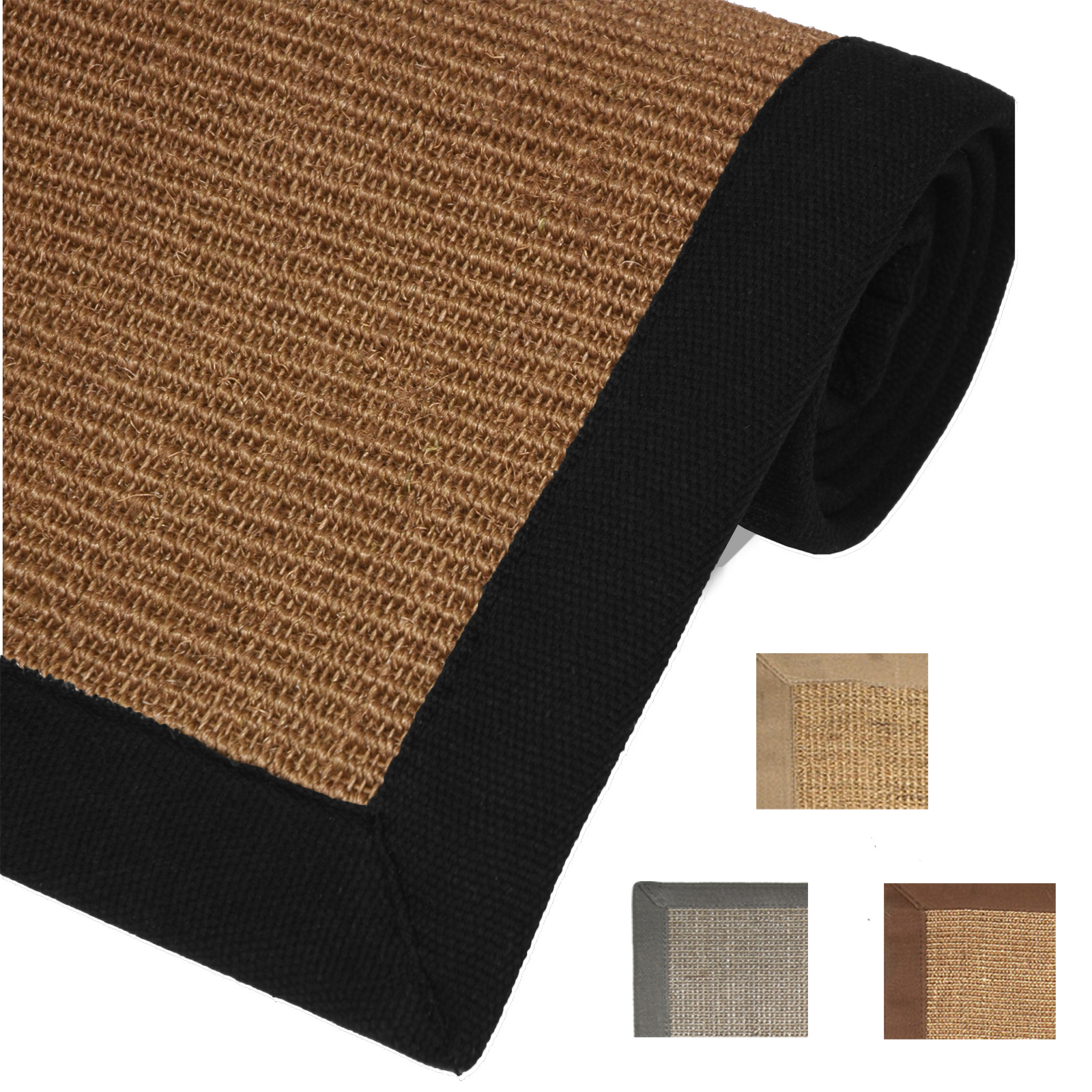 sisal rugs 100 natural fiber seagrass area rug casual border accent mat carpet