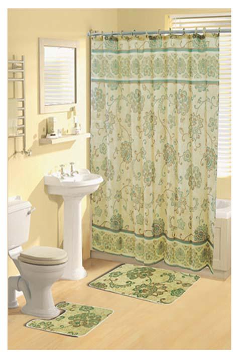 Curtains Ideas Dark Green Shower Curtain
