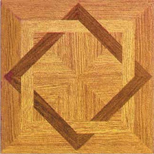 Wood square vinyl floor tiles 40 pcs self adhesive for Vinyl square floor tiles
