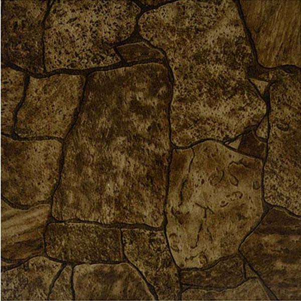 Rustic Stone Vinyl Tile 40 Pc Adhesive Kitchen Flooring