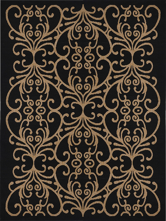 Home Dynamix Environs Outdoor Area Rug 18007A-450 Damask Scrolls at Sears.com