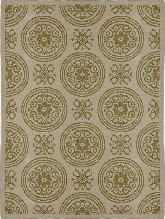 Home Dynamix Environs Outdoor Area Rug 18030A-150 Medallions Circles at Sears.com