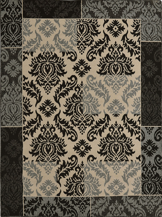 Home Dynamix Environs Outdoor Area Rug 18051A-451 Damask Patchwork at Sears.com