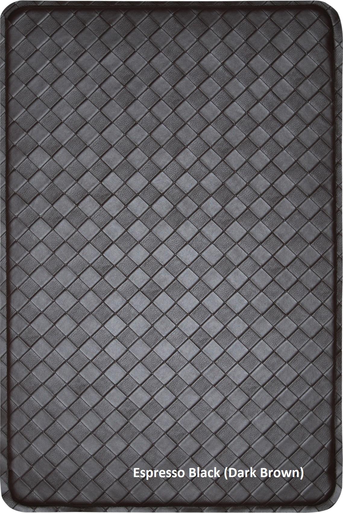Contemporary Indoor Cushion Kitchen Rug Anti Fatigue Floor Mat